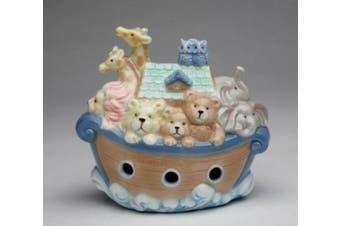 Cosmos 2041 Fine Porcelain Noah's Ark Piggy Bank, 12cm