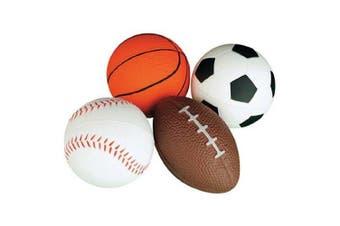 (1) - Relaxable Balls (Foam Sports Balls, 1 Dozen)