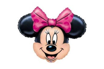 (1, USA Size -) - Foil Helium Grade Balloon Minnie Mouse for Party Decoration