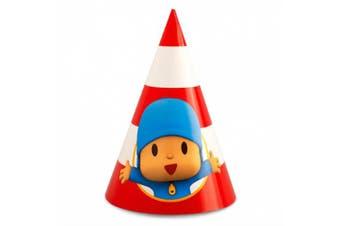Pocoyo Party Supplies - Cone Hats (8)