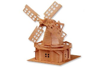 3-D Wooden Puzzle - Holland Windmill -Affordable Gift for your Little One! Item #DCHI-WPZ-P056