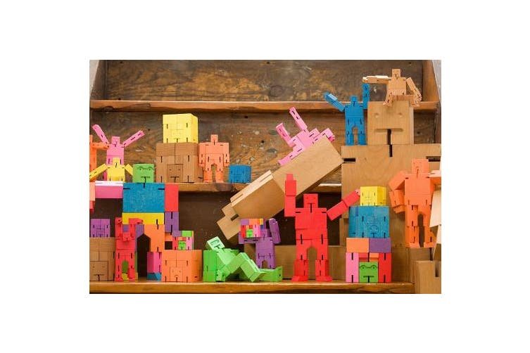 (Multi-color) - Areaware Cubebot Micro (Multi)