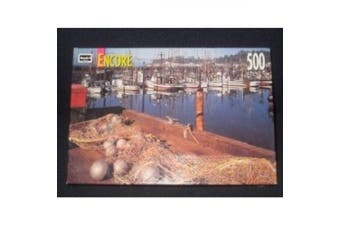 2000 RoseArt Encore - 500 Piece Jigsaw Puzzle - Yaquina Bay Newport, OR