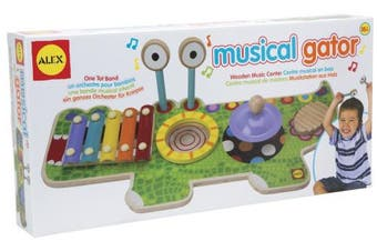 Alex Musical Gator Wooden Music Centre