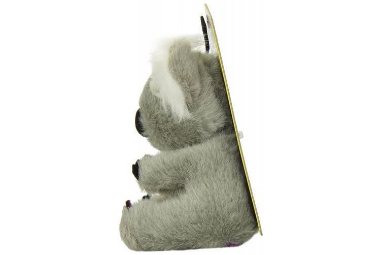 (black) - Multipet Look Who's Talking Plush Koala Bear- 11cm x 11cm x 14cm