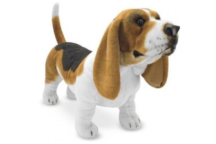 Melissa & Doug Basset Hound - Plush Dog