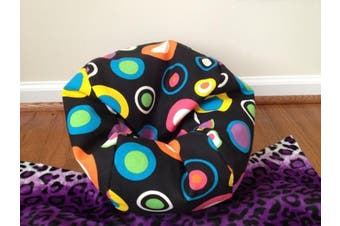 TOY Bean Bag Chair for 46cm American Girl Sized Dolls - BUBBLY JELLY BEAN