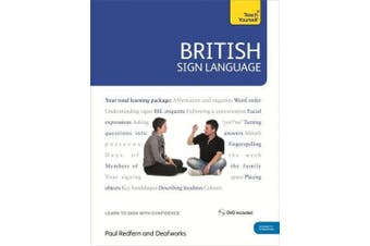 British Sign Language: Teach Yourself: Book and DVD Pack