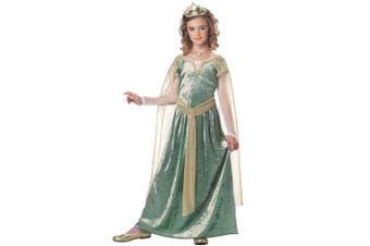 (Medium) - Queen Guinevere Child Costume