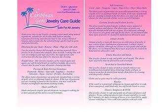 (B - 16 oz. Refill) - Caribbean Gem Banana & Coconut Oil Jewellery Cleaner