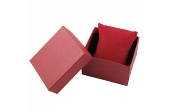 Amico Red Rectangle Gift Wrist Watch Storage Box Case Holder