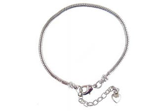 Snake Chain Master Bracelet for Large Hole Beads (3mm) by A-Ha (B413)