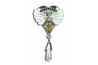 Rainbow Bridge Pet Memorial Jewellery Pin - Pet Loss Sympathy Gift