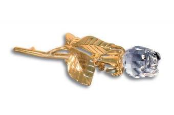 Remembrance Rose Pin - Sympathy Lapel Pin - Memorial Jewellery Brooch