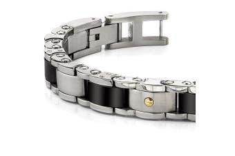 Heavy Duty Stainless Steel Mens Bracelet