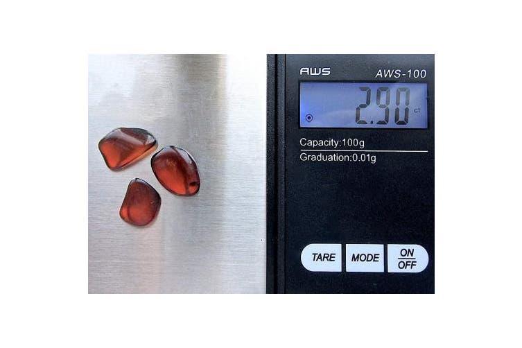 Ian and Valeri Co. Raw Amber Gemstones Very Small Tiny Set of 3 Stones