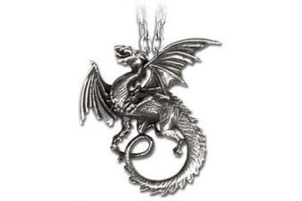 The Whitby Wyrm Pendant by Alchemy Gothic, England