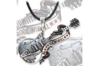 Steel Guitar Pendant by Alchemy Gothic, England