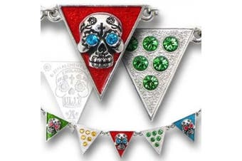 'Banderas de los Muertos' Skull Necklace