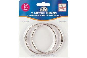 DMC Metal Rings 6.4cm