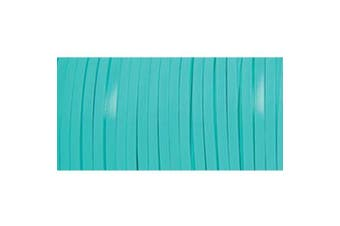 (Turquoise) - Pepperell Braiding RX100-40 Rexlace Plastic Lacing 3/32 Inch Wide 100 Yard Spool