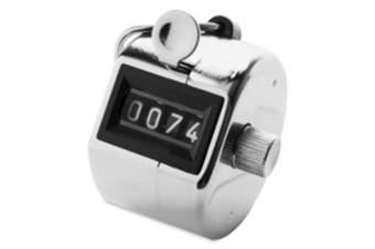 Sparco Products SPR24100 Tally Counter w- Finger Ring- Silver