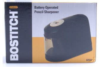 (1) - Bostitch (Stanley Bostitch) 02697 Pencil Sharpener Battery Powered 4-1/4inx6inx5.7cm Black
