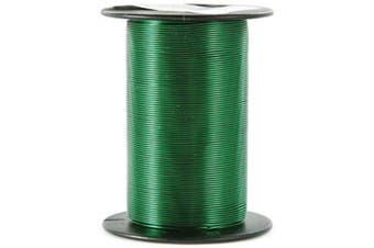 (Green) - Craft Wire 24 Gauge 25yd