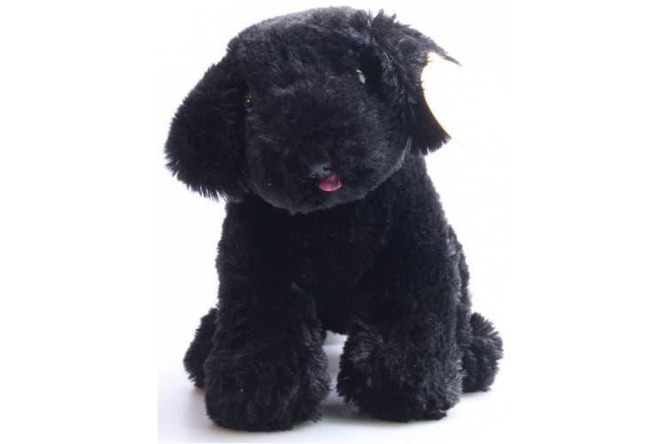 Melissa & Doug 7484 885151685661 Benson Black Lab-Stuffed Animal Puppy Dog, 1 EA