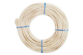 Commonwealth Basket Round Reed #5 3.25 mm 1 lb Coil-360 feet, Brown