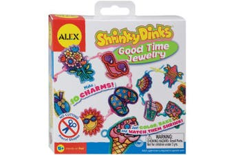 (Good Time Jewelry) - ALEX Toys - Shrinky Dinks Kit, Good Time Jewellery