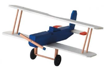 (BI Plane) - Wood Model Kit