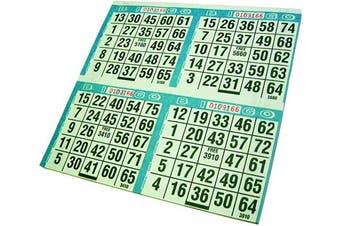Primo Bingo Game Sheets 20cm x 20cm 125/Pkg
