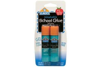 Elmer's Washable School Gel Glue Sticks 2/Pkg