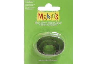 (Oval) - Makin's Clay Cutters 3/Pkg