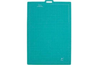 June Tailor 70cm -by-100cm Gridded with 60cm -by-90cm GridRotary Mat With Handle