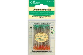 (By The Yard) - Clover Quilting Pins Fine