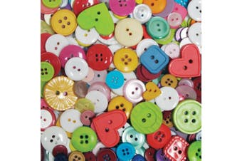 (120ml, Multi) - Blumenthal Lansing Company Favourite Findings 120ml Big Bag of Buttons, Multi
