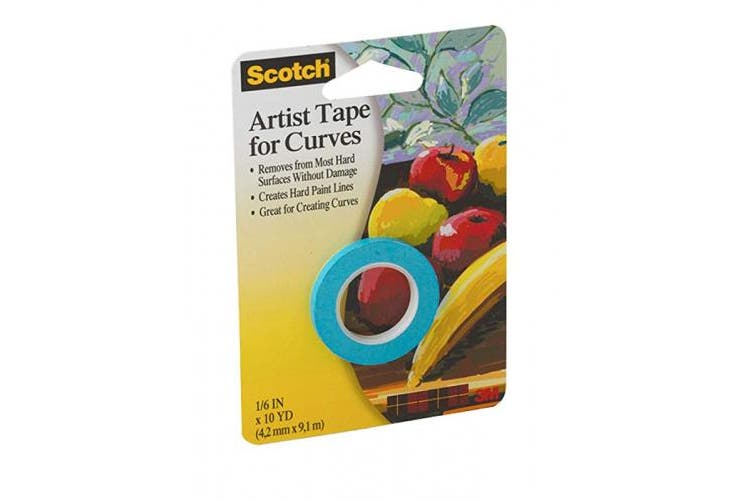 (1) - 3M Scotch Artist Tape for Curves
