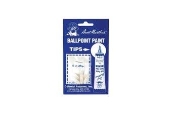 (Original Version) - Aunt Martha's Ballpoint Paint Tube Replacement Tips 6/Pkg