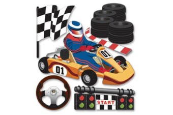 (Go Carts) - Jolee's Boutique Dimensional Stickers