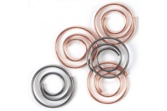 Mini Metal Spiral Clips .13cm 25/Pkg