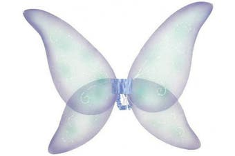 (purple/blue) - Costumes For All Occasions FW8100FPR Wings Fairy Prpl Blu Grn