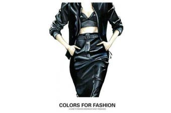 Colors for Fashion: Drawing Fashion with Colored Markers
