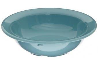 (140ml Fruit Bowl, Turquoise) - Carlisle 4386663 Dayton Melamine Fruit Bowl, 140ml, Turquoise (Set of 48)