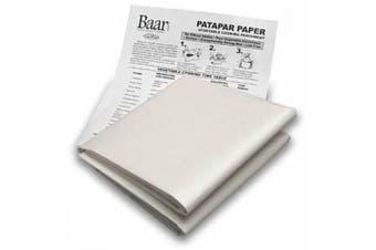 Baar Patapar Paper, Vegetable Cooking Parchment - 60cm x 60cm , 6 Reusable Sheets