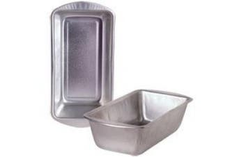(1, Stainless) - Bread and Loaf Pan - Fits in Toaster Oven! Cooking Concepts