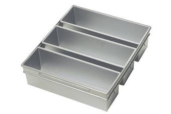 (Cover) - Focus Foodservice Commercial Bakeware 3-Strap Pullman Pan Set