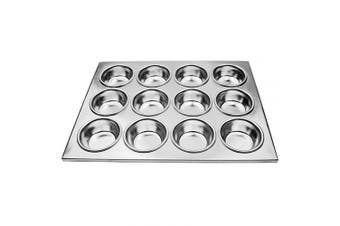 (12-Cup) - New Star Foodservice 37821 Commercial Grade Aluminium 12-Cup Muffin Pan