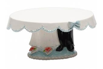 Appletree Design Bride and Groom Cake Stand, 27.9cm by 13cm